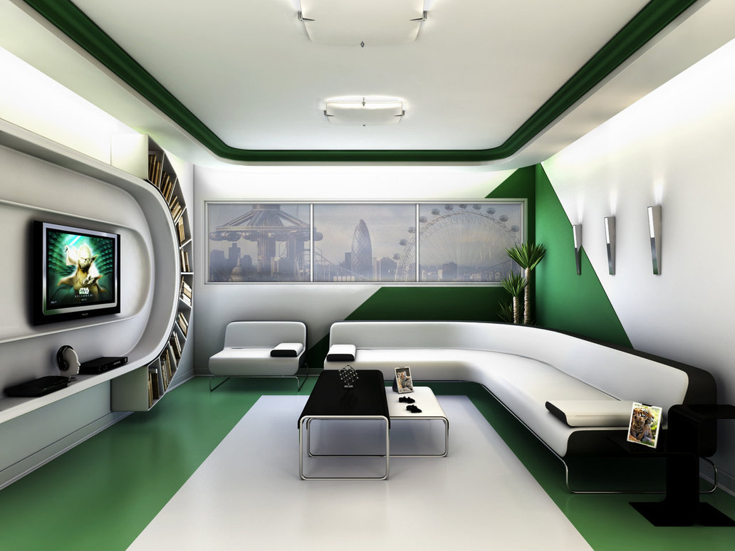 futuristic living room design awesomedesigninterior